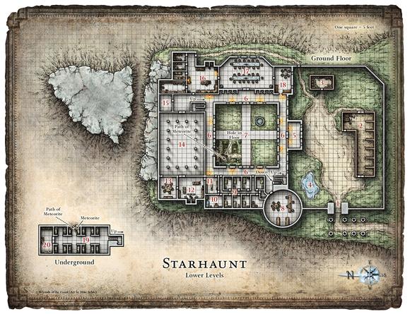 Mike Schley Dungeon Magazine Adventure Maps