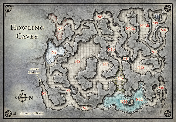 Princes of the Apocalypse; Howling Caves (Digital DM & Player Versions ...